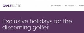 Golftaste Viajes exclusivos de Golf